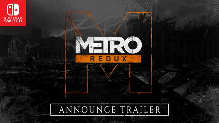 持ち運べる地下鉄FPS:『Metro Redux(メトロ リダックス)』Nintendo Switch版のプレイ動画公開、発売日は4月23日