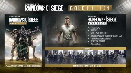 レインボーシックス シージ:PS4 DL版新エディション「デラックス」と「ゴールド」