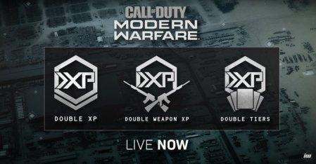 CoD:MW:ダブルXP・ダブル武器XP・ダブルティア開催、2月12日まで