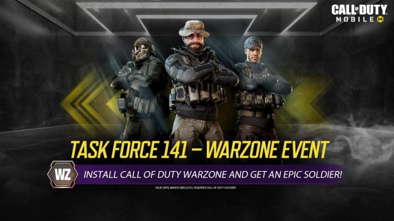 CoDモバイル CoD:Warzone コラボ