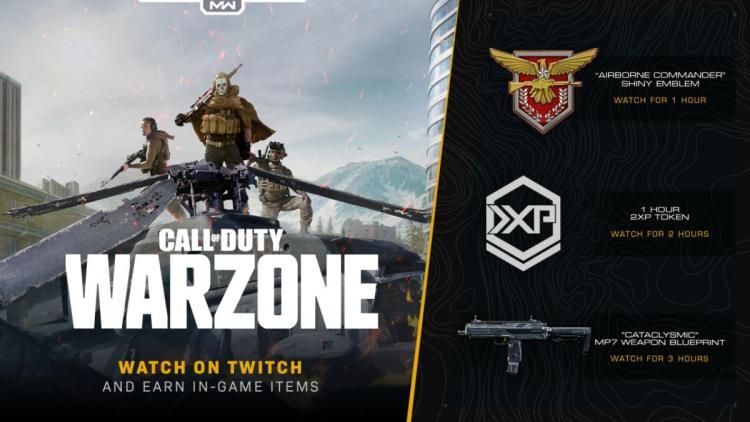 CoD:MW:「MP7」武器設計図などがもらえるTwitch視聴キャンペーン