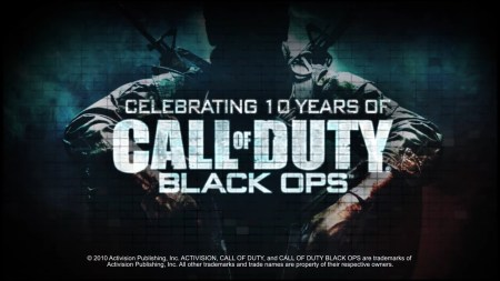 CoD:BO『コール オブ デューティ ブラックオプス』十周年!