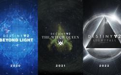 """Destiny 2: 拡張コンテンツ""""漆黒の女王""""(2021)と""""光の陥落""""(2022)と、肥大化しすぎたコンテンツを整理する""""DCV""""を発表"""
