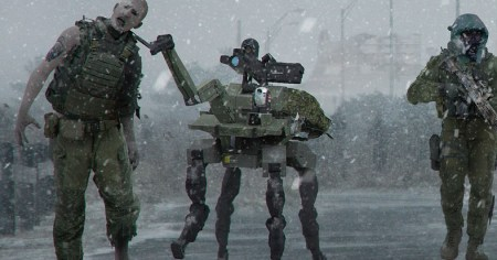 CoD:MW:幻となった「ゾンビモード」のコンセプトアート公開