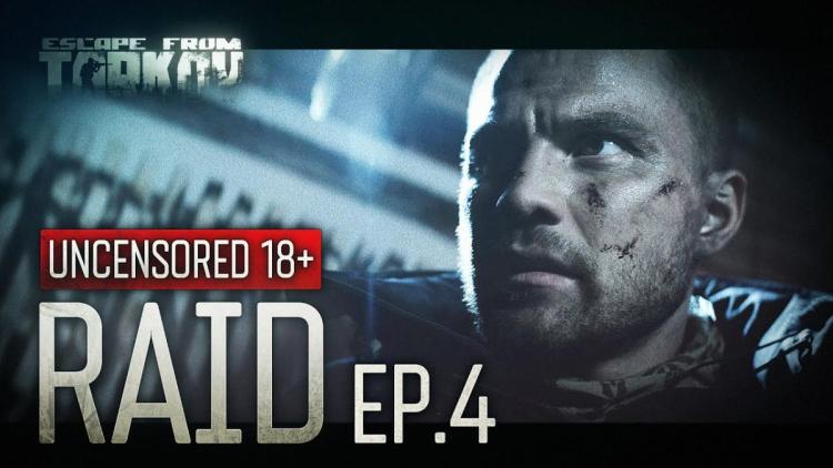 Escape From Tarkov:約15分のハイクオリティ短編映画「Raid」第4弾公開、爆発的な視聴数と高評価