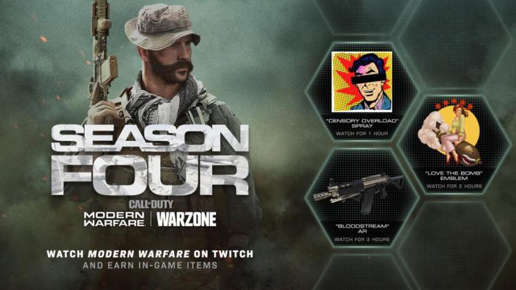 CoD:MW:Grau 5.56武器設計図など、3種のアイテムがもらえるTwitch視聴キャンペーン開始