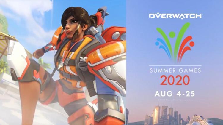 オーバーウォッチ:「サマー・ゲーム 2020」は8月5日より開催、ファラとエコーの夏らしい新スキン公開