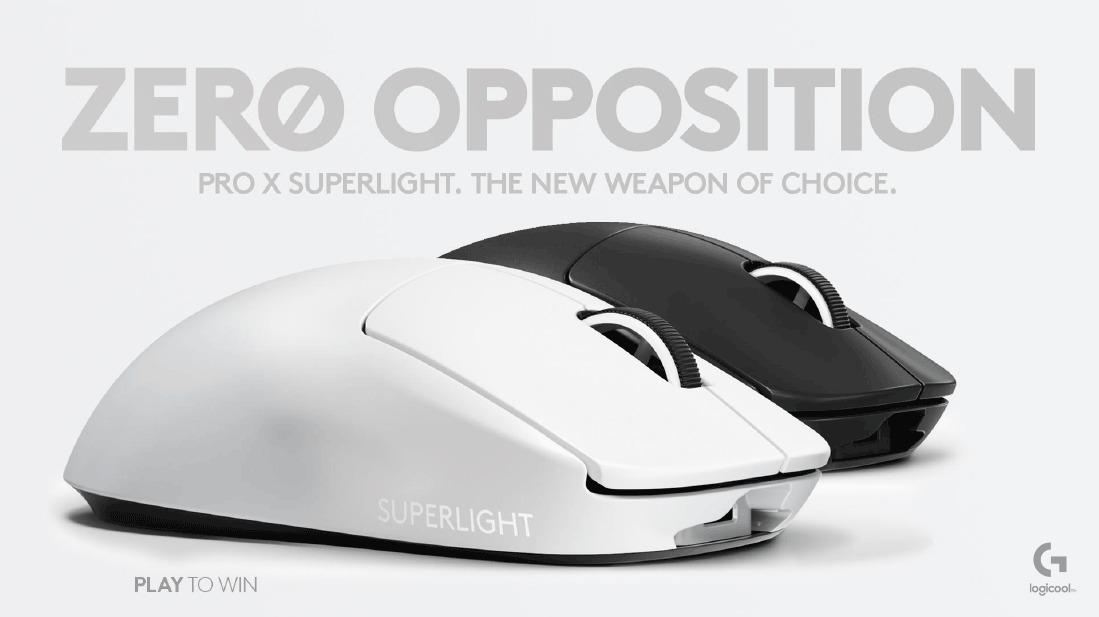 PRO X SUPERLIGHT ワイヤレス ゲーミングマウス