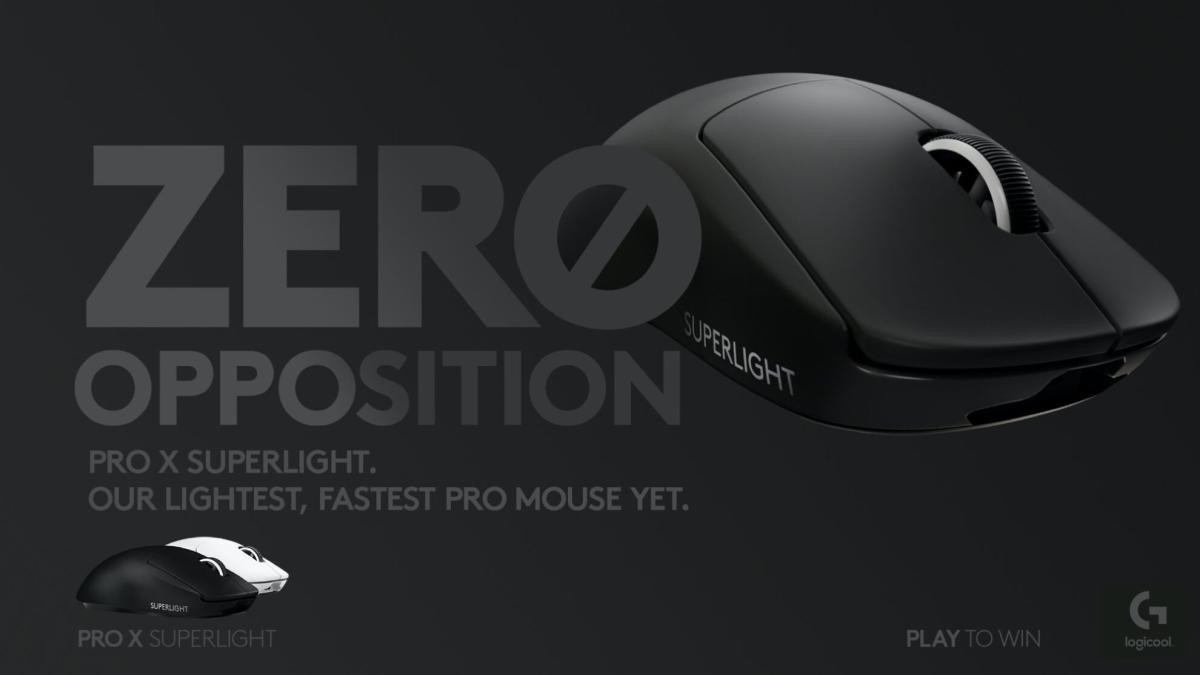 決定版マウス「PRO」進化版:ロジクールG史上最軽量ワイヤレスゲーミングマウス「PRO X SUPERLIGHT ワイヤレス ゲーミングマウス」を12月22日発売