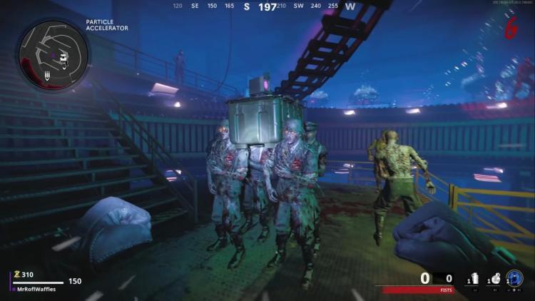 CoD:BOCW:ゾンビモード「Die Maschine」でゾンビの棺桶ダンスが見られるイースターエッグ