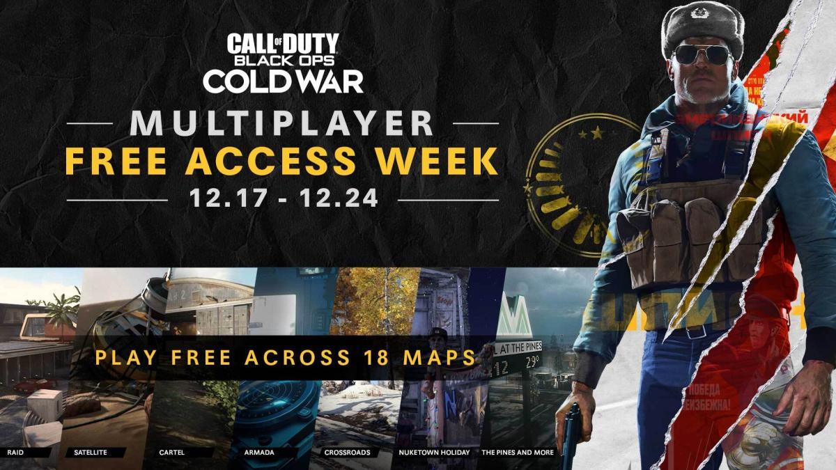 CoD:BOCW:マルチプレイヤーの期間限定無料アクセスが12月18日から開始! ダブルXP&ダブルバトルパスXPも開催