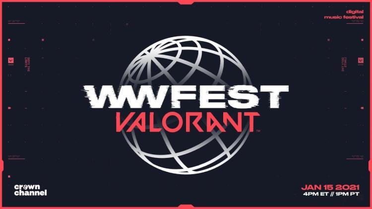 ヴァロラント:音楽・アートイベント「wwFest: VALORANT」1月16日開催、一人称視点でライブを楽しもう