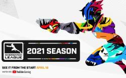 オーバーウォッチリーグ:2021シーズンは4月17日より開始、4回のシーズントーナメントで構成され賞金総額は425万ドル