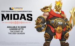オーバーウォッチ:ロードホッグのチャンピオンシップスキン「Midas Roadhog」がBlizzConline Day2にて公開