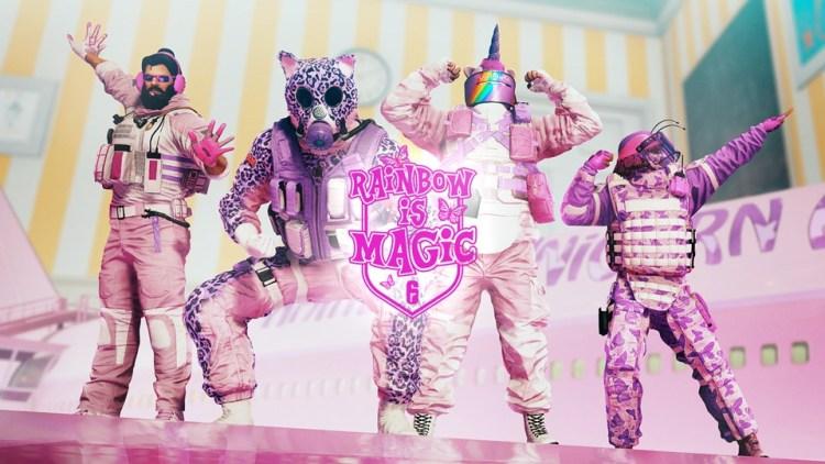 レインボーシックス シージ:ピンクのタチャンカたちがクマさん救出に出動する「Rainbow is Magic」、4月6日まで期間限定復活