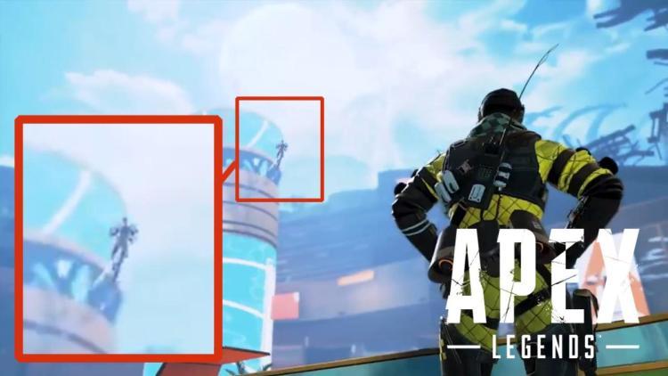 [噂] エーペックスレジェンズ:プレイヤー1億人記念動画に謎のシルエット、空飛ぶ新レジェンド登場か