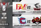レインボーシックス シージ:RJL第4節結果、CAG4連勝で首位キープ / Lst・EVAは1勝し巻き返しへ