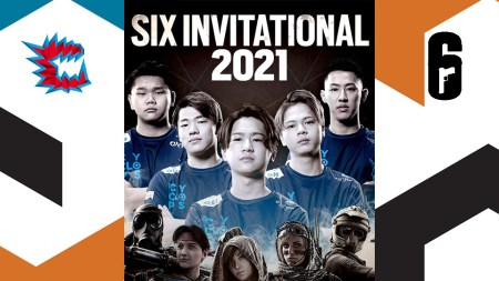 レインボーシックス シージ:「シックスインビテーショナル2021」、CYCLOPS athlete gaming開幕直前インタビュー