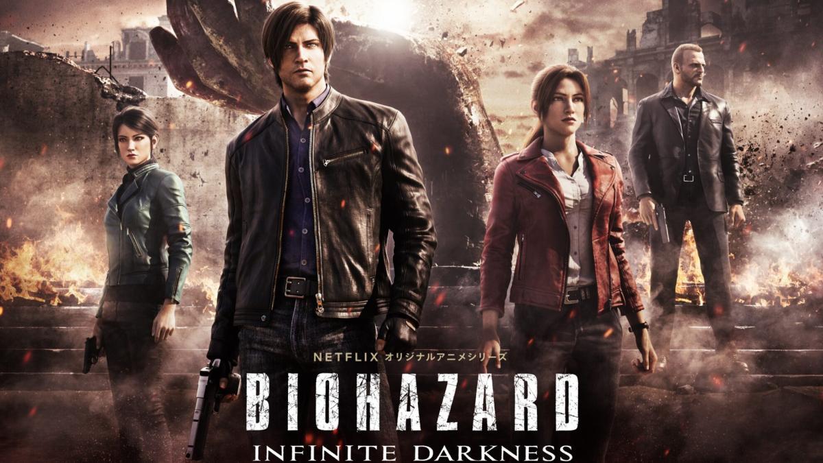初の連続CGドラマ「バイオハザード:インフィニット ダークネス」7月8日よりNetflixで全世界独占配信、予告映像公開