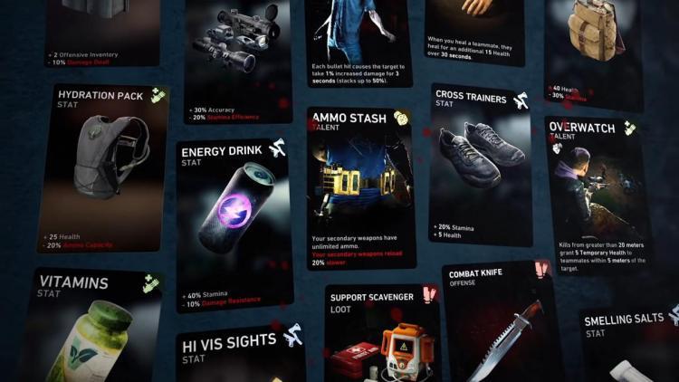協力型ゾンビFPS『Back 4 Blood』:トレーラーで判明したカード48種を一挙公開