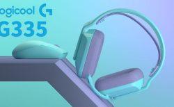 Logicool ロジクール G335 G304 ヘッドセット マウス 有線 ミント カラー
