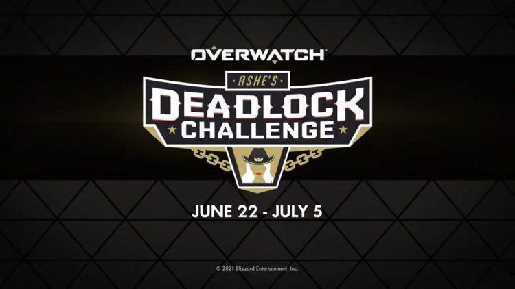 オーバーウォッチ: 「アッシュのデッドロック・チャレンジ」6月23日開催、イベント報酬らしきスキンのシルエットが公開