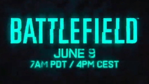 [速報] BF6:『バトルフィールド6(仮)』のトレーラー公開は現地時間6月9日!ティザー公開