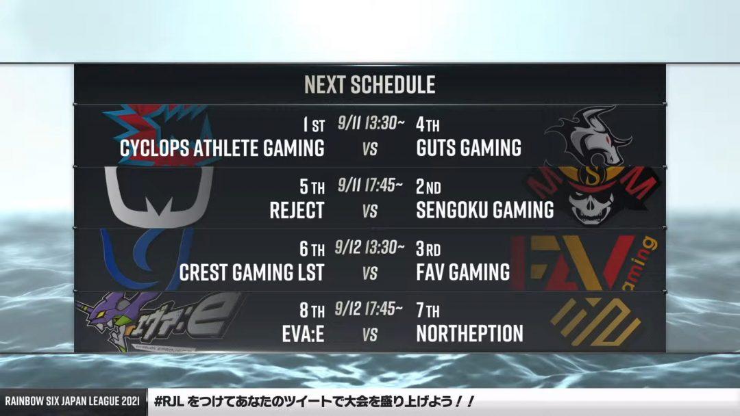 Rainbow Six Japan League 2021【第12節 Day2】 8-46-24 screenshot