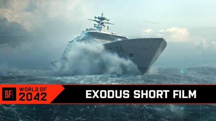 BF2042:ティザー映像公開!ショートストーリー映像「Exodus」8月13日0時(12日深夜)に公開予定、NO-PATの決起が語られる?