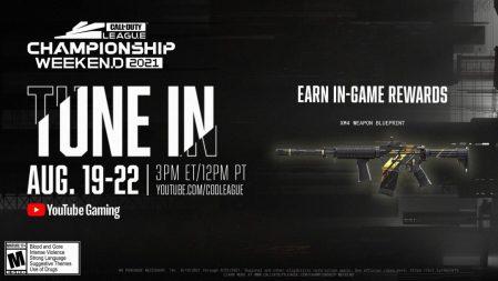 Call of Duty League 2021:チャンピオンシップが8月20日から開催、XM4武器設計図などの視聴特典あり