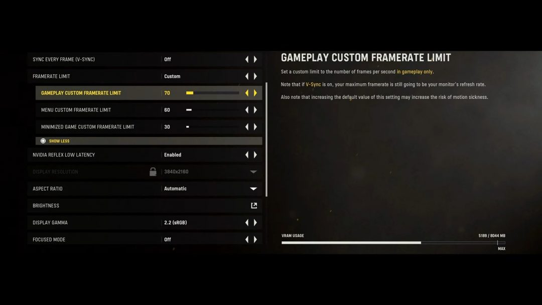 オプション_フレームレート_ヴァンガードCall of Duty®_ Vanguard - Worldwide Multiplayer Reveal 25-8 screenshot