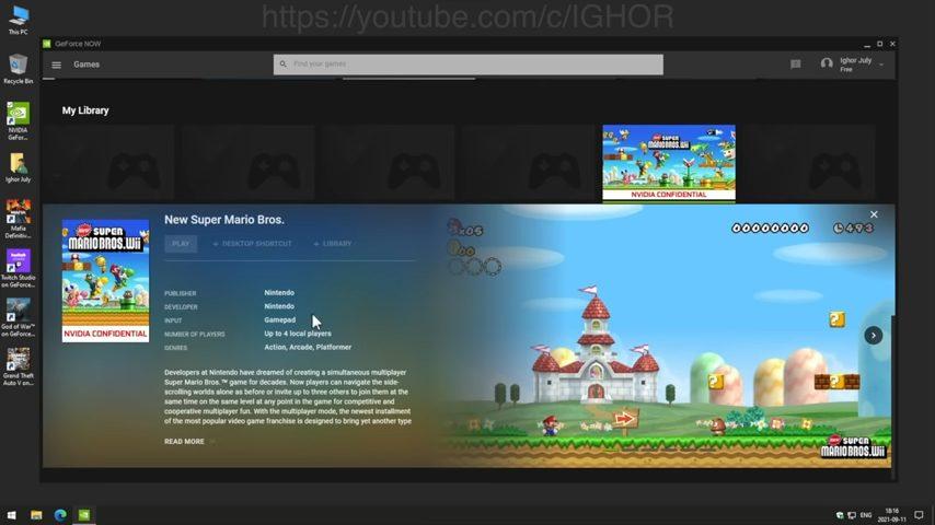 マリオPC_While unlocking NVIDIA GeForce NOW I found Pirates_ 9-10 screenshot