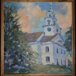 Gary Kowalski painting of Meetinghouse