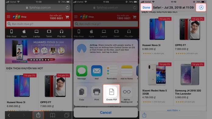 [Thủ thuật] Lưu cả trang web về iPhone bằng định dạng PDF (Ảnh 3)