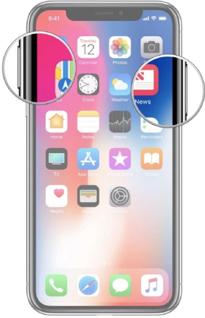 Cách chụp ảnh màn hình trên iPhone Xs, Xs Max và Xr