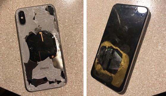 Một chiếc iPhone X phát nổ sau khi được cập nhật iOS 12.1