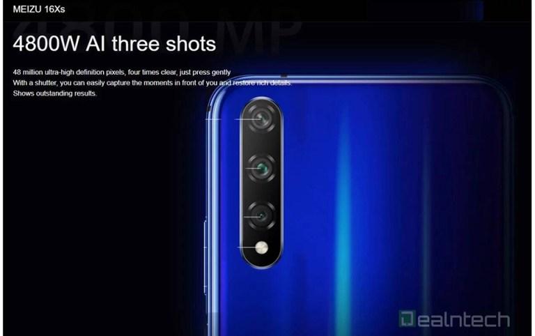 Cấu hình Meizu 16Xs (ảnh 4)
