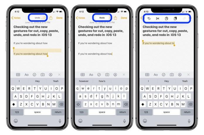 thủ thuật iOS 13