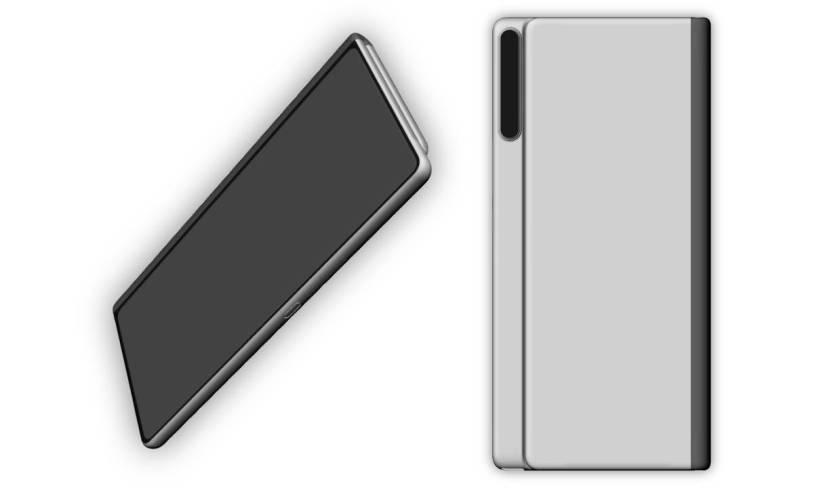 Thiết kế của Huawei Mate X thế hệ thứ 2 bất ngờ xuất hiện (ảnh 1)