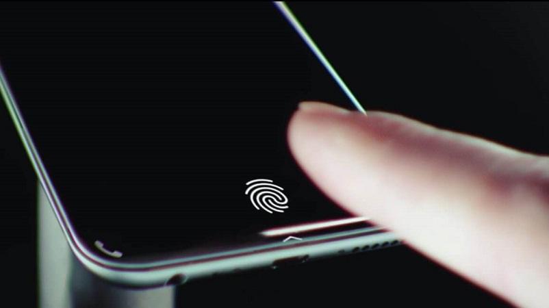 iPhone có vân tay dưới màn hình