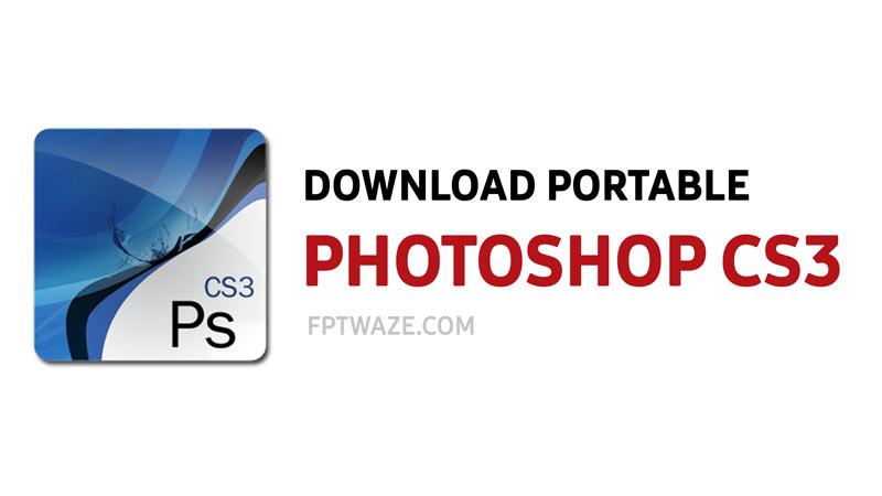 adobe photoshop cs3 portable setup