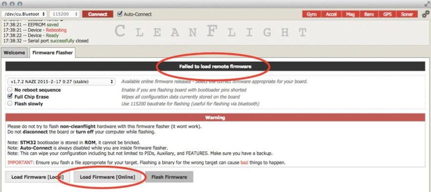 cleanflight files