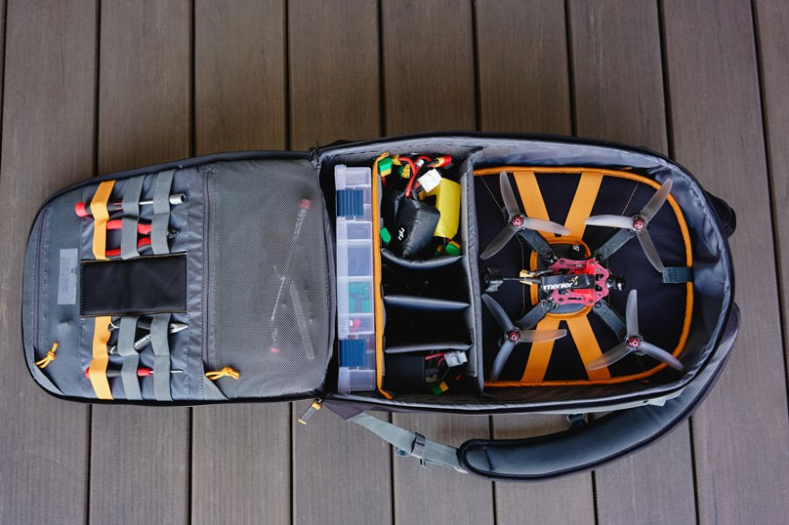 drone backpack lowepro quadguard