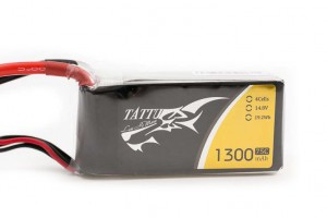 tattu 4s 75c 1300mah battery