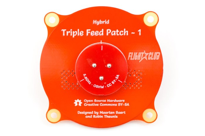 rjx triple patch antenna