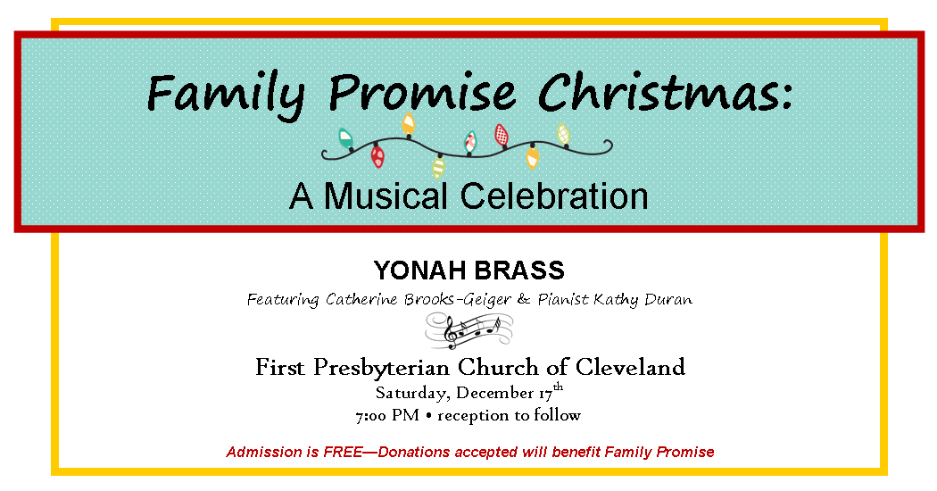 Family Promise Christmas: A Musical Celebration with YONAH BRASS