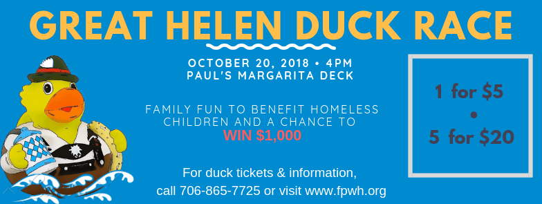 3rd Annual Great Helen Duck Race to kickoff Family Promise Week
