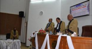 مناقشة رسالة ماجستير للطالب عبد الحسين باقر عبد الزهرة بعنوان (دور الحوكمة في اصلاح ادارة الدولة الاسلامية)