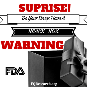 Fluoroquinolone postmarket research