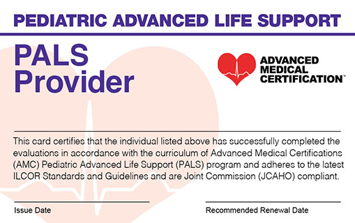 Online Pals Certification Recertification For Life Options